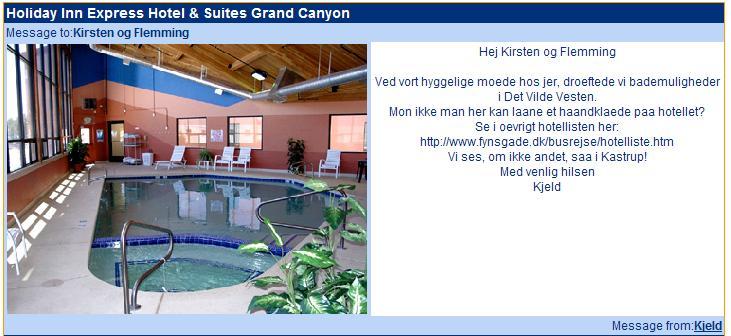 Hotelliste For Det Vilde Vesten Den 2 Maj 2006