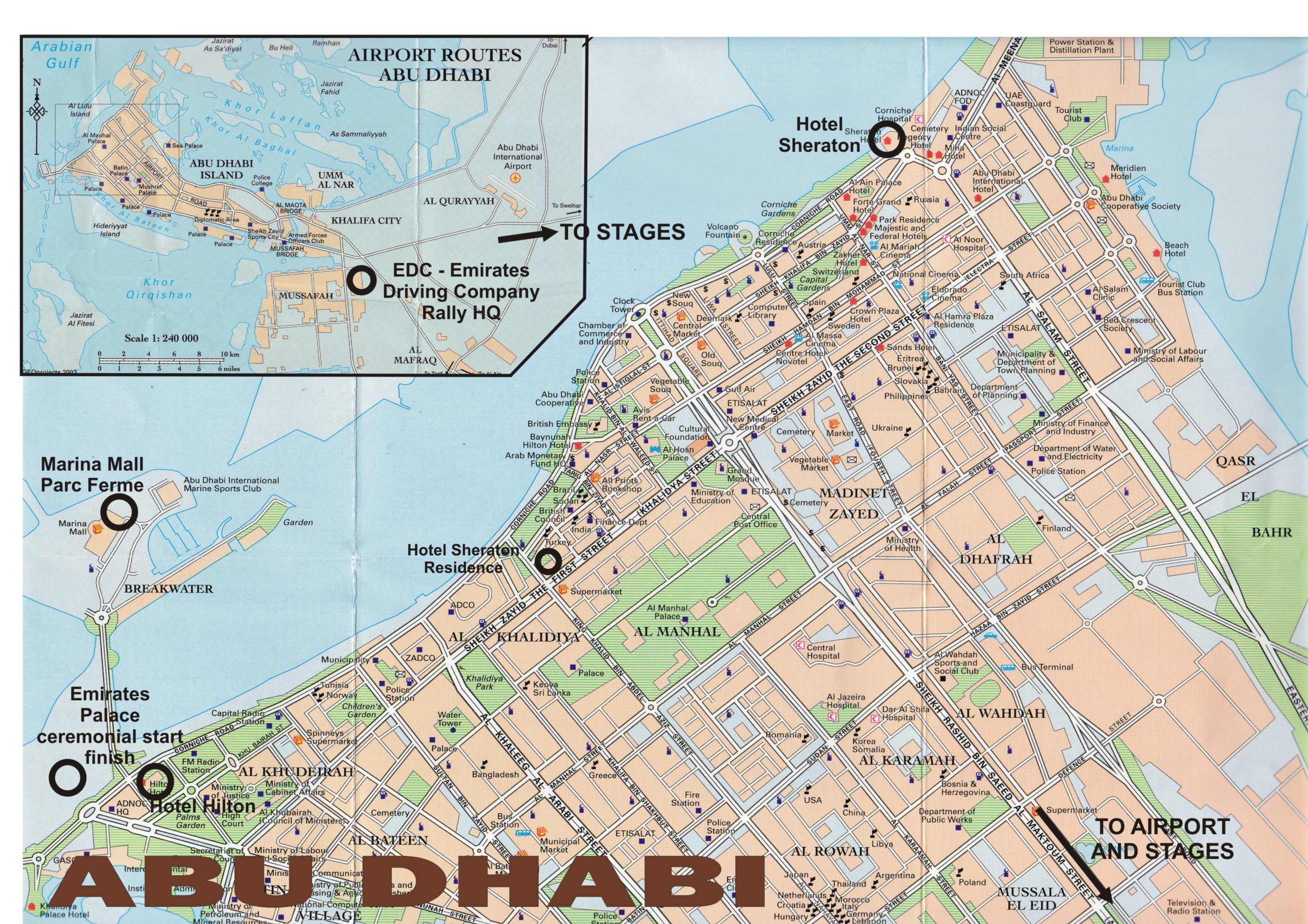 Abu Dhabi Map | Metro Map | Bus Routes | Metrobus Way Map | Train ... Abu Dhabi Map