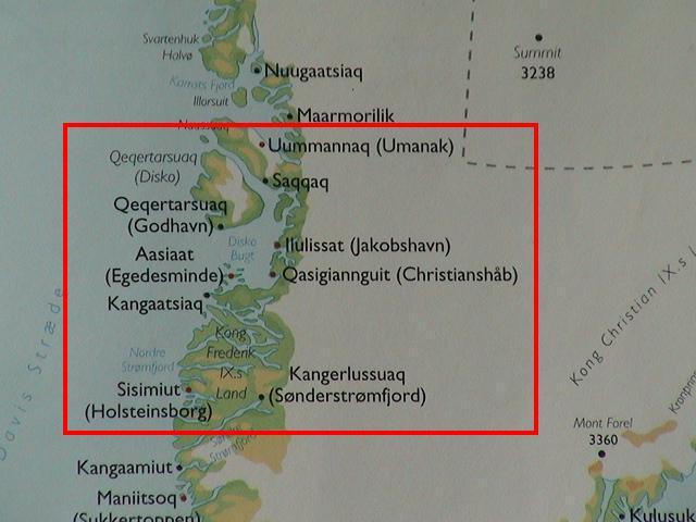 Rejseprogram For Krydstogt Langs Vestgronland